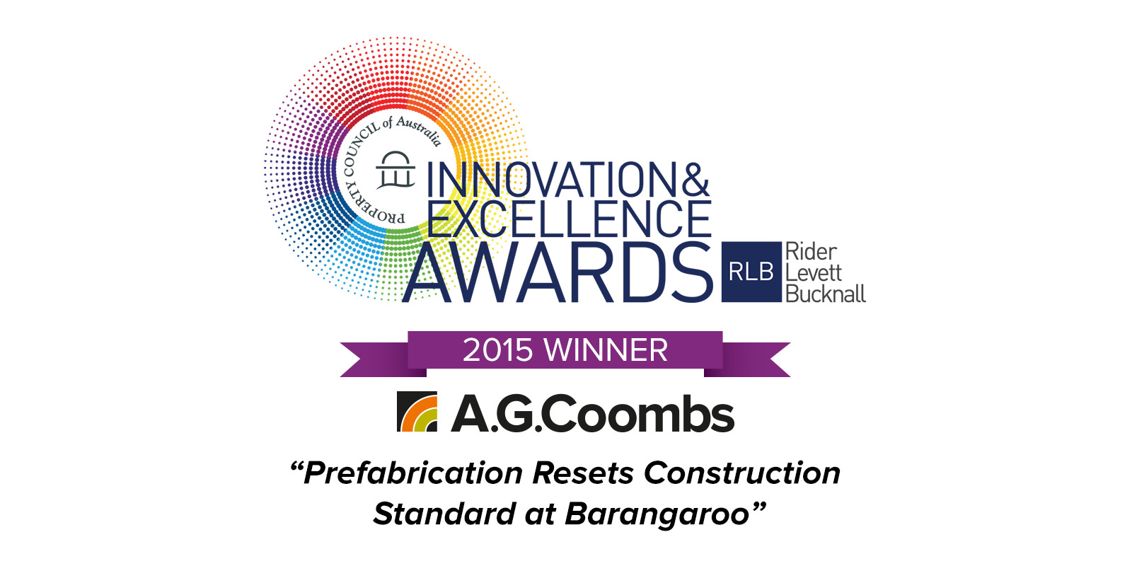 Property Council 2015 Award